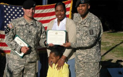 Veterans Ayana and Dave Powell become Rey Homes homeowners thanks to Heroes' Commons